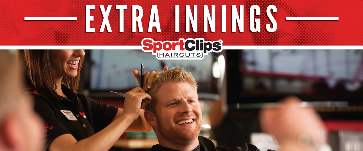 The Sport Clips Haircuts of Plaza Sorrento Extra Innings Offerings