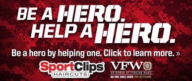 Sport Clips Haircuts of Plaza Sorrento​ Help a Hero Campaign